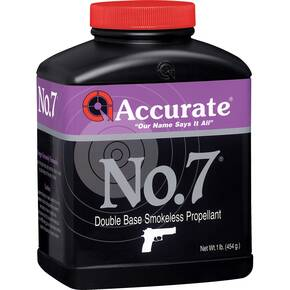Accurate No. 7 Handgun Powder 8 lbs