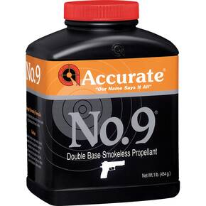 Accurate No. 9 Handgun Powder 8 lbs