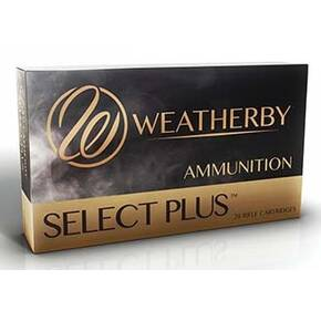 Weatherby Select Plus Rifle Ammunition .300 WBy Mag 165gr TTSX 3330 fps 20/ct