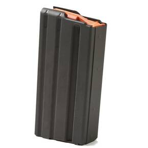 ASC AR-15 Magazine .223 Rem Black Aluminum with Orange Follower 20/rd