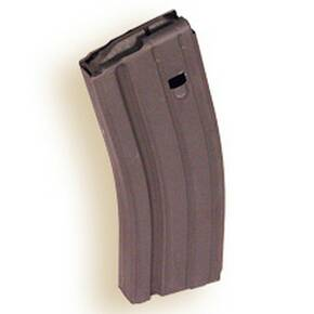 ASC AR Family Rifle Magazine Grey Follower 6.8 SPC Black Stainless Steel 25/rd