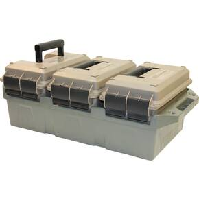 MTM 3-Can 50-Cal AMMO Crate - Dark Earth