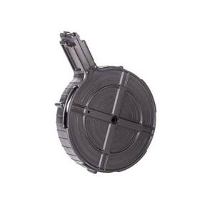 ATI German Sports Rotary Rifle Magazine Drum GSG-5/522 MODELS .22 LR Black Polymer 110/rd