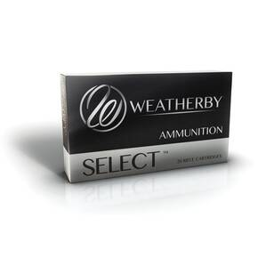 Weatherby Select Hornady Interlock Rifle Ammunition .257 WBY 100 gr BTSP 3605 fps 20/ct