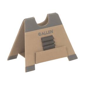 "Allen Alpha-Lite Folding Gun Rest Medium 8"" Brown"