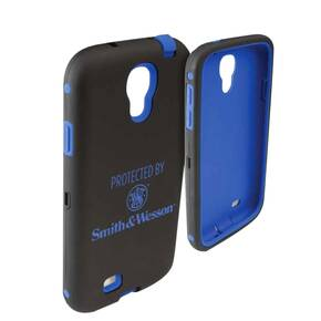 Allen S&W Galaxy S4 Cell Phone Case - Black/Blue