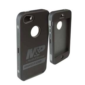 Allen M&P iPhone 4/4S Cell Phone Case - Black/Grey