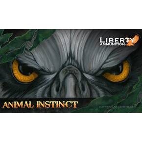 Liberty Animal Instinct Rifle Ammunition .22-250 Rem. 55 gr SCHP 20/ct