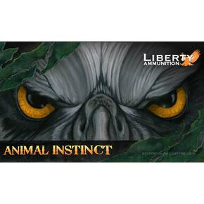 Liberty Animal Instinct Rifle Ammunition .300 Win Mag 100 gr SCHP 20/ct
