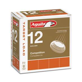 "Aguila International Shotshells 12 ga 2-3/4"" 7/8 oz 1350 fps #8 25/ct"