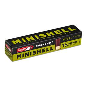 "Aguila Minishell Shotshell 12 ga 1-3/4"" 5/8oz 1200 fps #1B 20/ct"
