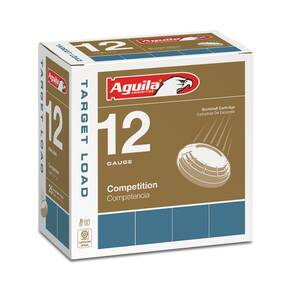 "Aguila Heavy Target Shotshells 12 ga 2-3/4"" 1-1/8oz 1200 fps #9 25/ct"