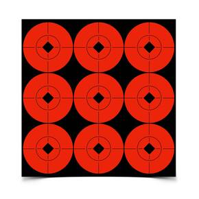 "2"" Adhesive  Target Spots 90/Pack"