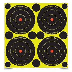 "Birchwood Casey Shoot-N-C 3"" Bull's Eye Targets 100/pk"