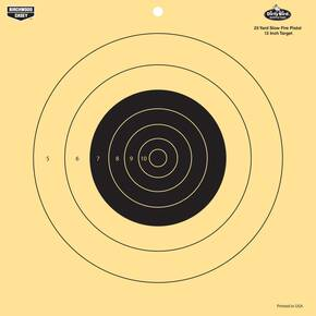 "Birchwood Casey Dirty Bird 12"" 25 Yard Pistol Reactive Target 12/ct"