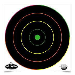 "Birchwood Casey DirtyBird 8"" Multi Color Reactive Target 8/ct"