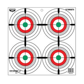 "Birchwood Casey EZE-Scorer 12"" Multiple Bull's-Eye Paper Target - 13/ct"