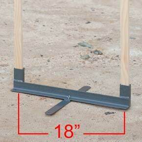 "GPS Metal Folding Target Stand - 18"" Wide"