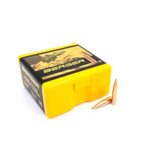 "Berger Long Range Hybrid Target Bullets 6.5mm .264"" 153.5 gr LRHBT 500/Box"