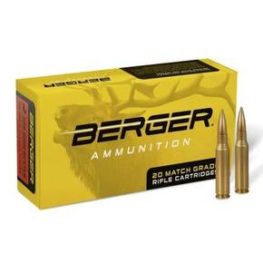 Berger Match Rifle Ammunition 6.5mm Creedmoor 140 gr Hybrid OTM 20/ct