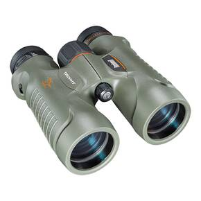Bushnell Trophy Binoculars - 10x42mm BaK-4 Roof Prism Bone Collector Green