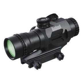 Bushnell AR Accelerate 4x Prism Rifle Scope - Illuminated BTR-3 Reticle Black Matte