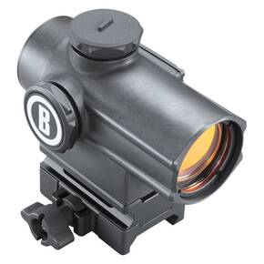 Bushnell Tac Optics Mini Cannon Red Dot Sight - 1x23mm Multi 4-Reticle Hi-Rise Box 5L