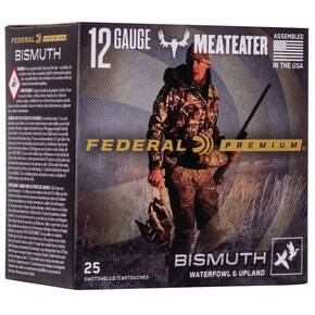 "Federal Bismuth Shotshells 12ga 3"" 1-3/8oz 1450 fps #3 25/ct"