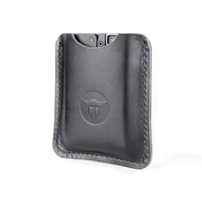 Trailblazer Firearms Life Card Leather Sleeve Black