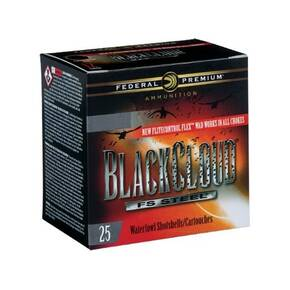 "Federal Black Cloud Shotshells 12ga 3-1/2"" 1-1/2oz  1500 fps #3 25/ct"