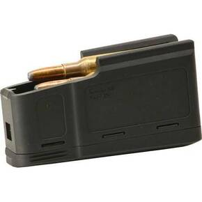 Sauer 100/101/M18 Rifle Magazine 6.5x55 Swedish / 8x57 JS - Black Polymer 5/rd