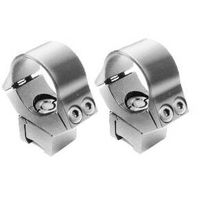 B-Square Vari-Clamp Adjustable Rings 30mm - Silver