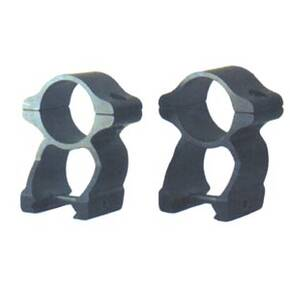 B-Square See-Thru Sport Rings for Knight Muzzleloaders MK85-MK92 - Medium, Black