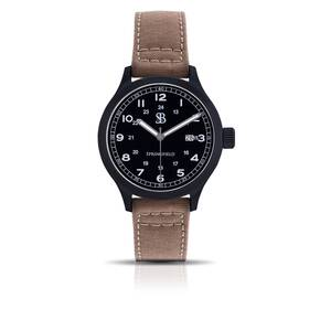 Smith & Bradley Springfield PVD Watch - Tan Cordura Strap