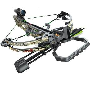 Barnett Quad Edge S Crossbow with 4x32 Scope - HD Camo