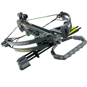 Barnett Wildcat C6 Compound Crossbow with Black 4x32mm Scope - Black