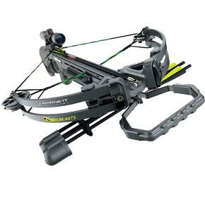 Barnett Wildcat C6 Compound Crossbow with Red Dot Sight - Black