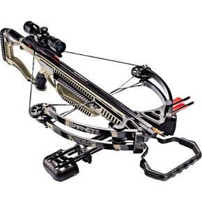 Barnett Recruit Terrain Crossbow Package with 4x32mm Multi-Reticle Scope - Desert Tan