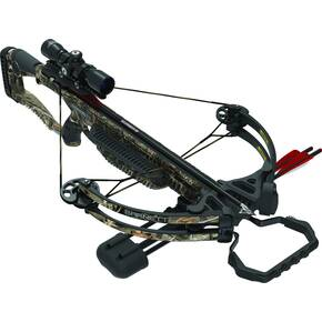 Barnett Raptor FX3 Crossbow RCD & 4x32mm Muli-Reticle Scope & TriggerTech Frictionless Release Technology- Realtree Hardwoods