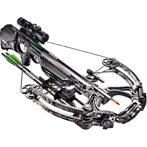 Barnett Ghost 420 CRT2 Crossbow Package with 1.5-5x32mm Premium Illuminated Scope & Triggertech Trigger -  Mossy Oak Treestand Monochromatic