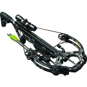 Barnett TS390 Crossbow with Triggertech Assembly & 4x32mm Illuminated Scope - Gray Digital Camo