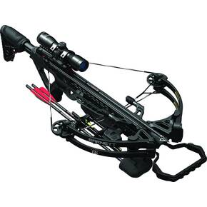 Barnett TS370 Compound Crossbow Package with Triggertech Assembly & 4x32mm Scope - Black