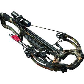 Barnett RAPTOR PRO STR Crossbow with 4x32mm Illuminated Red or Green Multi-Reticle Scope  - Realtree Xtra
