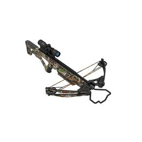 "Barnett Wildgame XB370 Compound Crossbow 2-20"" Arrows & 4x32 Scope - Elude Camo"