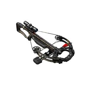 Barnett Whitetail Hunter STR Crossbow with TriggerTech 2 Arrows & 4x32 Scope - Mossy Oak Bottomland