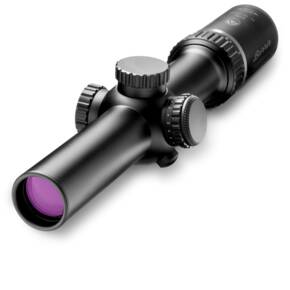 Burris MTAC Rifle Scope - 1-4x-24mm Illum. Ballistic AR Reticle RFP Black Matte