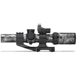 BLEMISHED Burris SkullTac Rifle Scope Combo w/FastFire III, AR-P.E.P.R. Mount - 1-4x24mm Ballistic CQ 5.56 Camo