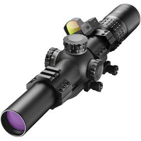 BLEMISHED Burris XTR II Rifle Scope Combo - 1.5-8x-28mm Illum. Ballistic 5.56 Gen3 DFP