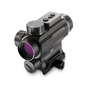 Burris AR-1X Prism Sight - 75' FOV Ballistic CQ 1X Reticle Matte - Optic Only