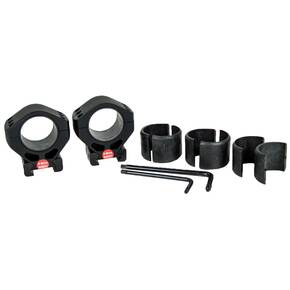 "Burris Steel XTR Signature Scope Ring Set with Pos-Align Offset Inserts 30mm 1.25"" Height - Matte"